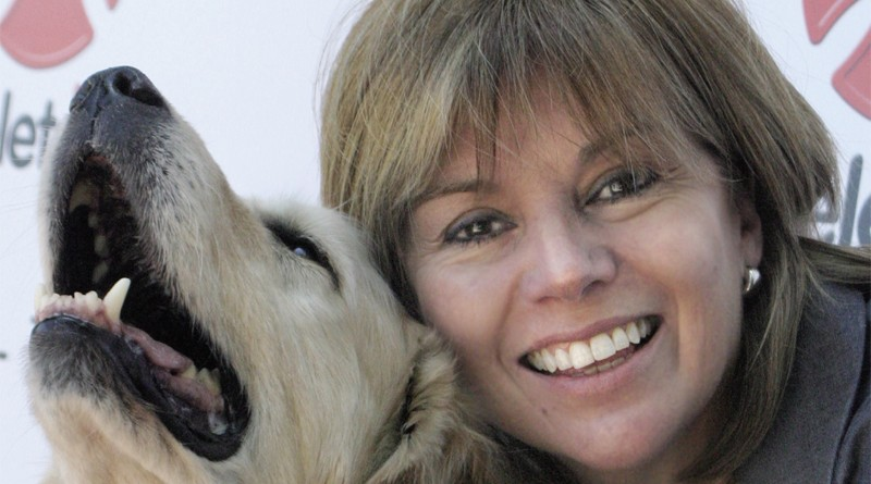 Ximena Casarejos: Es importante el trabajo con perros guías